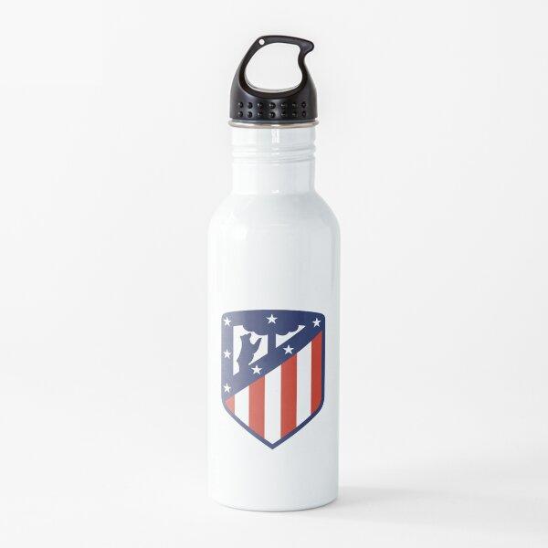 Logotipo del Club Atlético de Madrid Botella de agua
