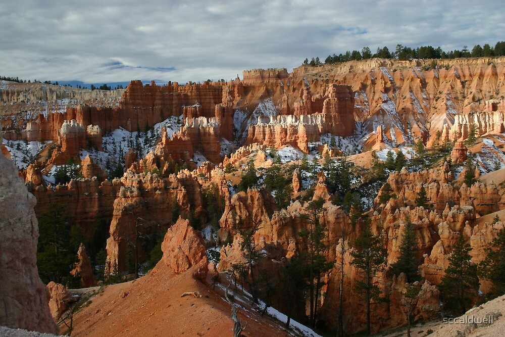 Sunrise at Bryce Canyon National Park, Utah by sccaldwell