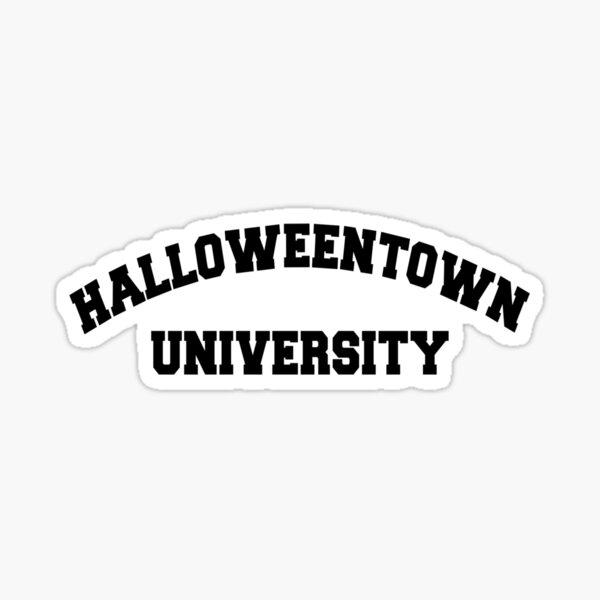 halloweentown university Sticker
