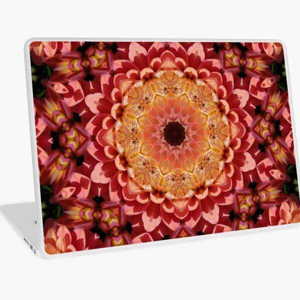 Geometric Kaleidoscope Mandala Flower Pattern Laptop Skin