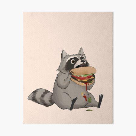 Burgers by Trash Panda Art Board Print