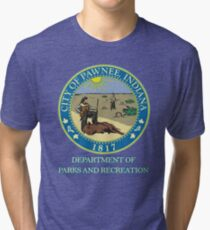 Pawnee Indiana Parks and Recreation Tri-blend T-Shirt