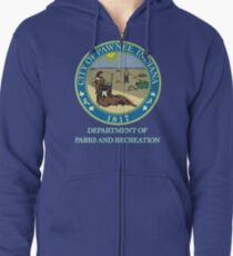 Pawnee Indiana Parks and Recreation Zipped Hoodie
