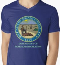 Pawnee Indiana Parks and Recreation Men's V-Neck T-Shirt