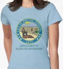 Pawnee Indiana Parks and Recreation Women's Fitted T-Shirt