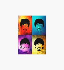 the Beatles Art Board Print