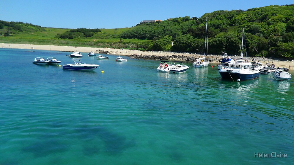 Herm Harbour by HelenClaire