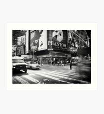Streets of New York Art Print