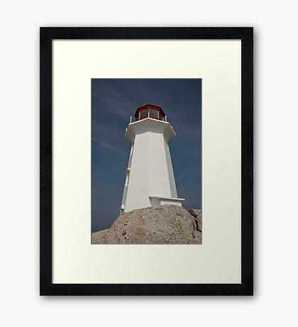 Peggy's Cove Lighthouse, Nova Scotia Framed Print