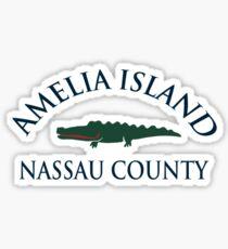 Amelia Island - Florida. Sticker