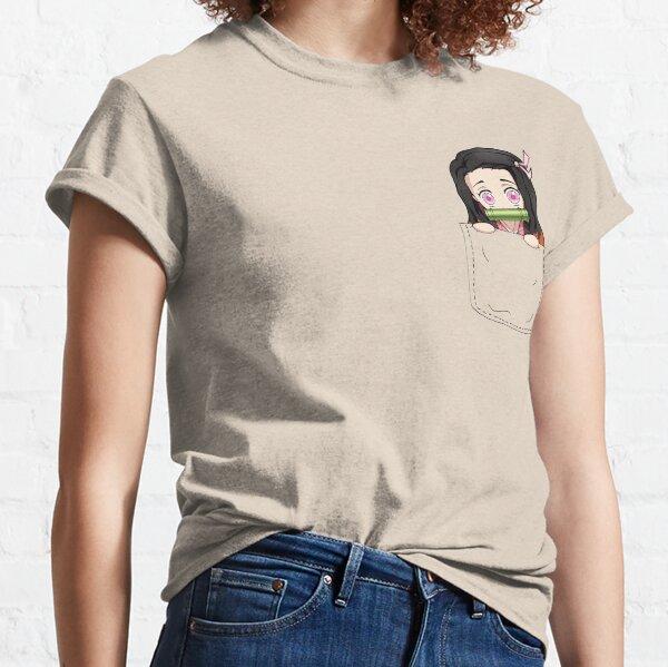 Nezuko Pocket T-shirt classique