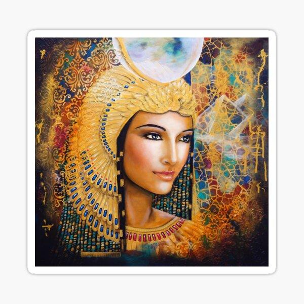Golden Isis Sticker