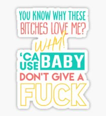Cash Shit - Megan Thee Stallion Sticker
