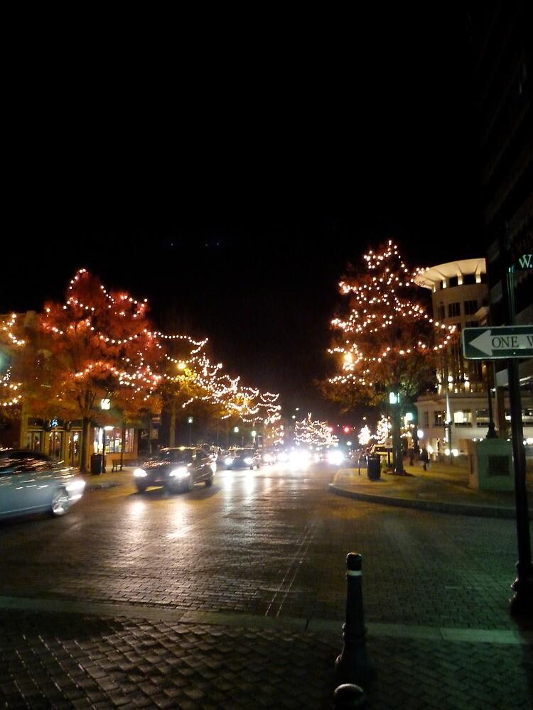 Main Street Lights by Gordon Taylor