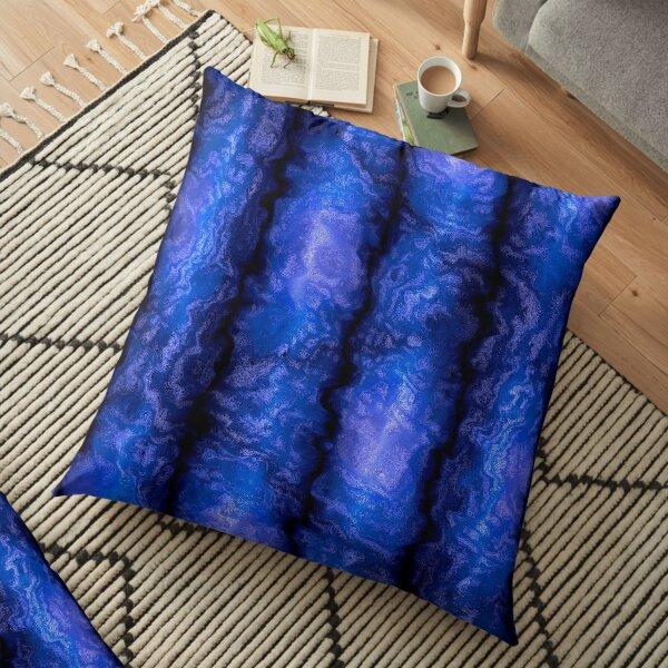 Azure Tapestries 4 Floor Pillow