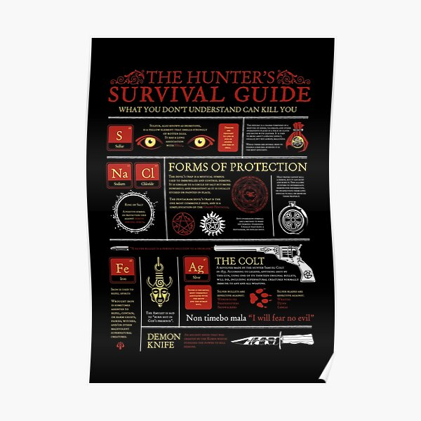 The Hunters Survival Guide Poster