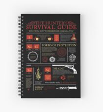 The Hunters Survival Guide Spiral Notebook