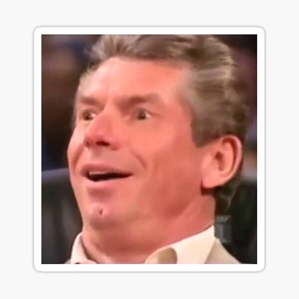 Vince McMahon Reaction Sticker