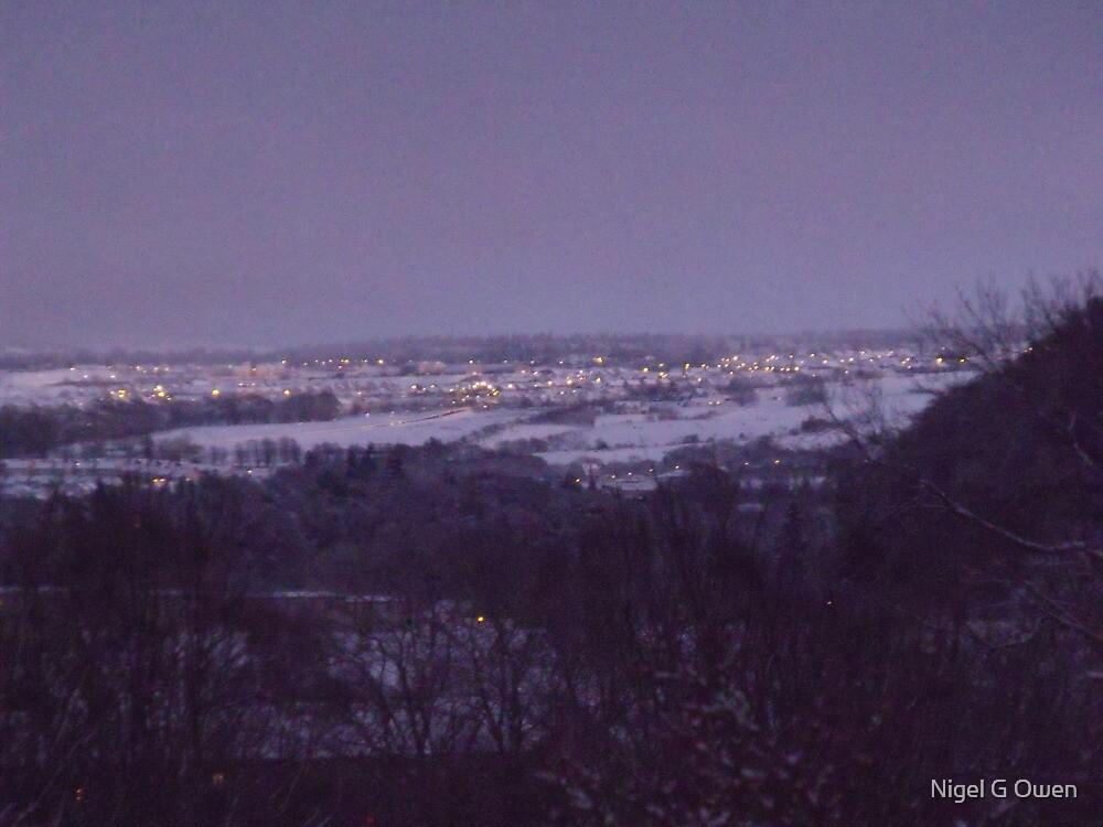 A Snowy Night by Nigel G Owen