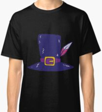 Pilgrim hat with feather Classic T-Shirt