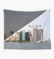 New York CityScape  Wall Tapestry