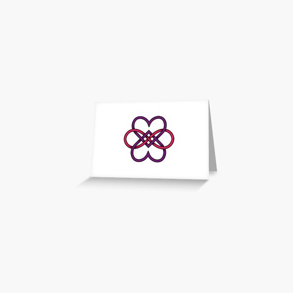 Polyamory Hearts Greeting Card