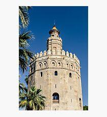 Sevilla - Torre del Oro Photographic Print