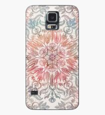 Autumn Spice Mandala in Coral, Cream and Rose Case/Skin for Samsung Galaxy