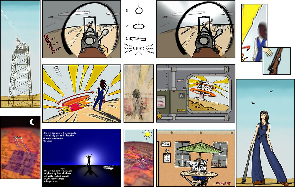 Visions of a Desert Wanderer by TwilledWaves