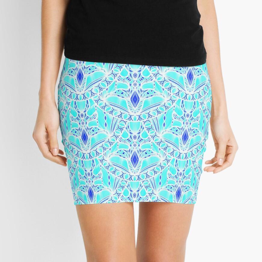 Frozen Scales Mini Skirt