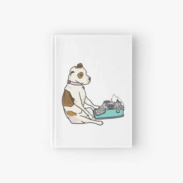 Part Wild Pup at Work Hardcover Journal