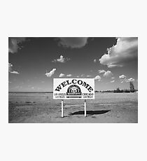 Route 66 - Midpoint Sign Photographic Print