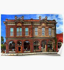 Redmens Hall - Jacksonville Oregon Poster