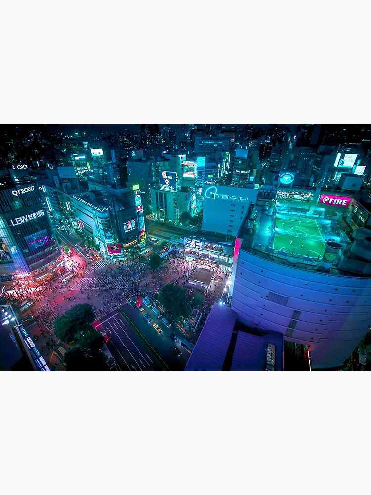 Shibuya crossing from above by TokyoLuv