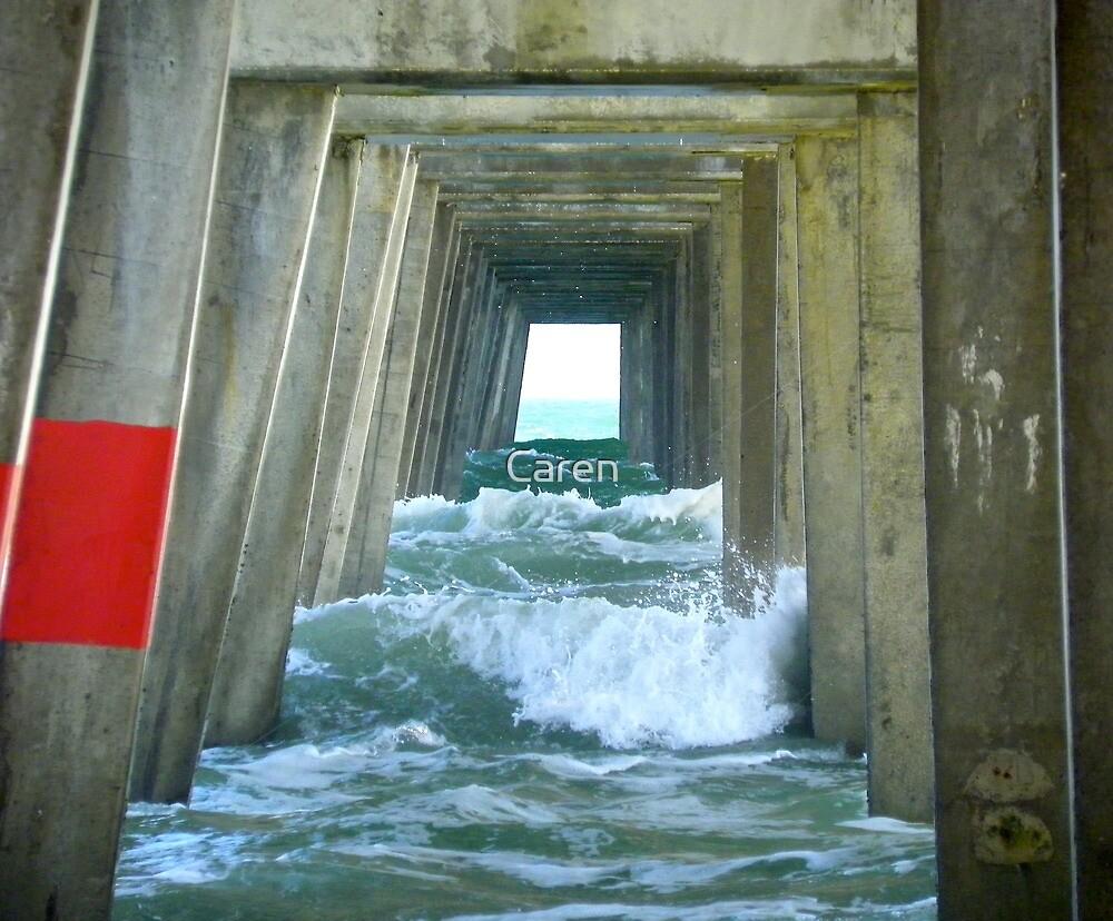 Under the Pier by Caren