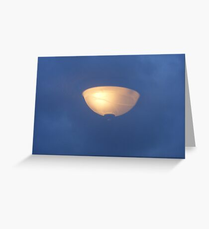 LAMP IN THE SKY Greeting Card