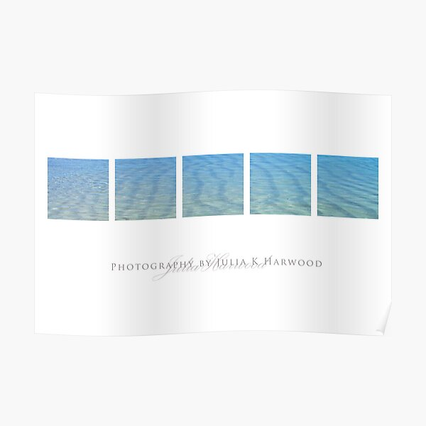 Blue Ocean ~ Signature Series Poster