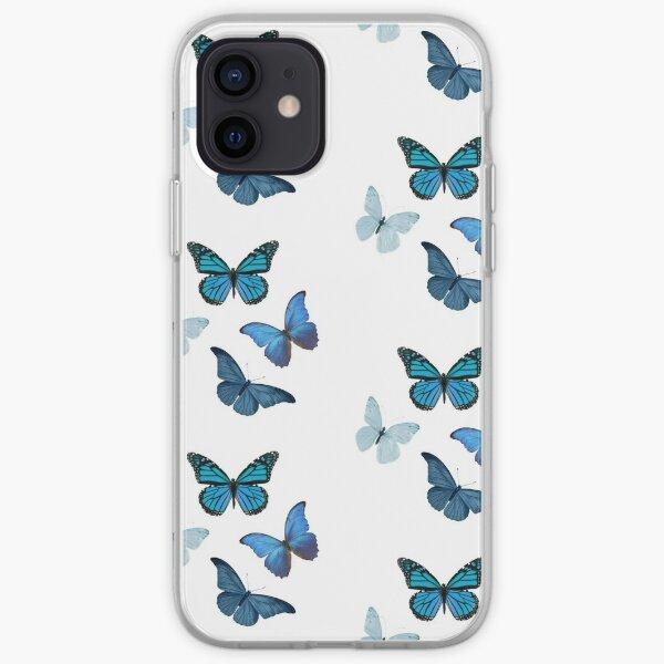 Papillons bleus ??? Coque souple iPhone
