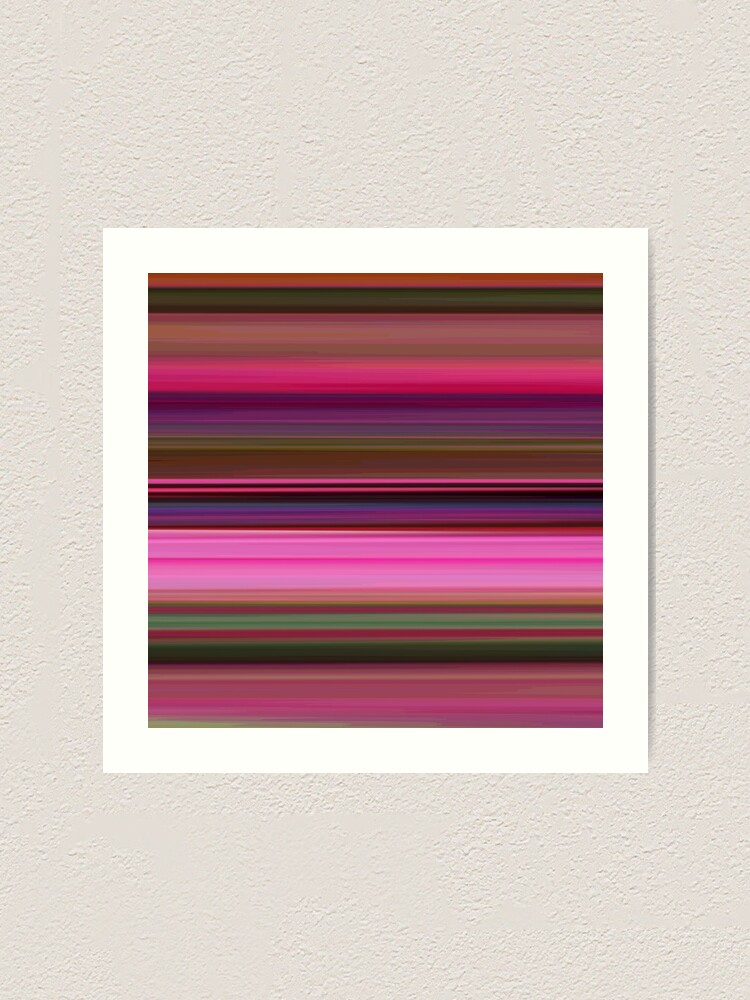 Alternate view of Polinator - Striped Art Print