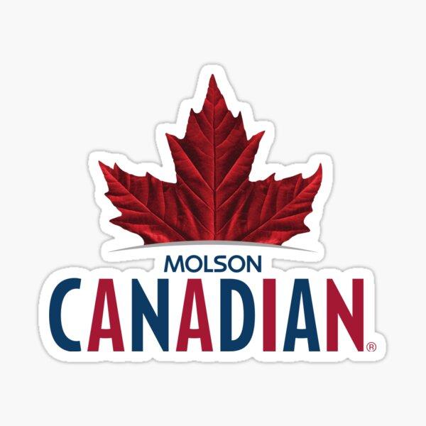 Molson Canadian Sticker