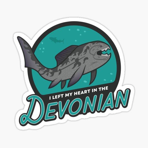 I Left My Heart in the Devonian Sticker