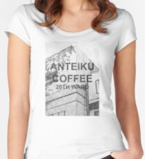 Anteiku Coffee Women's Fitted Scoop T-Shirt