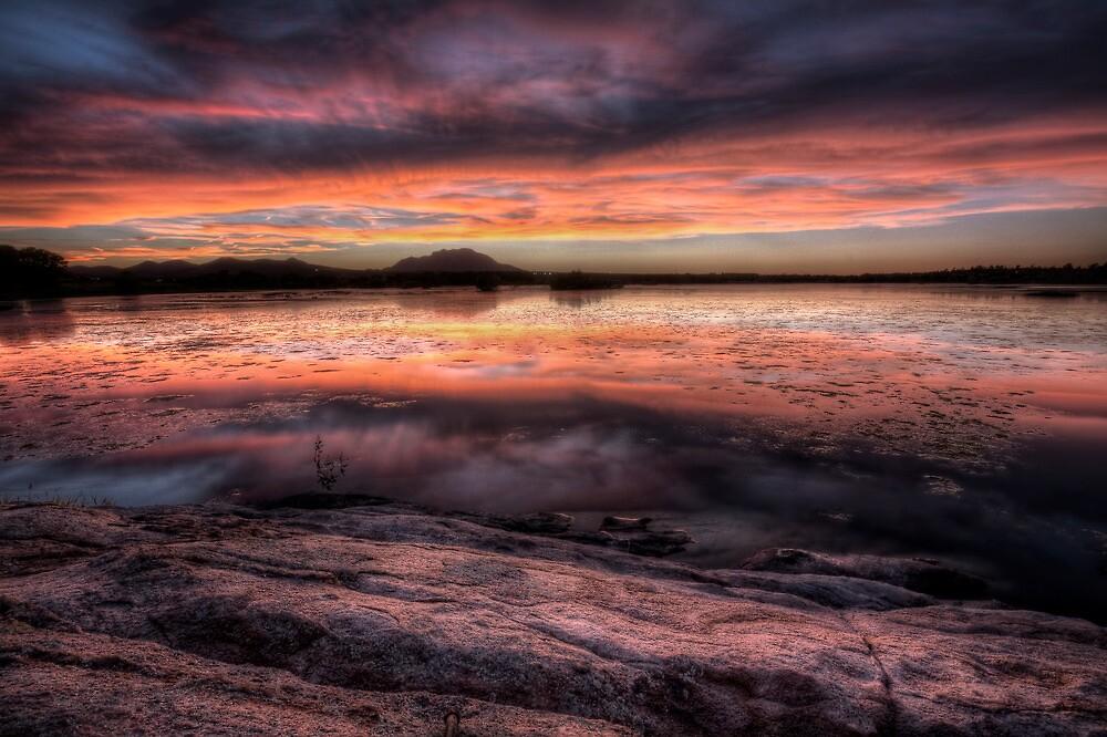 Sunset Slice by Bob Larson