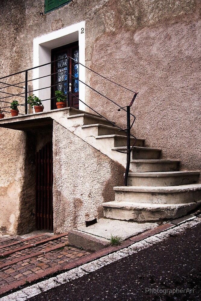 Concrete Stairs by PhotographerAri