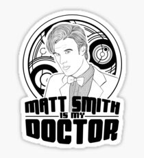 Eleven Is My Doctor Sticker