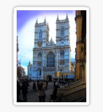Westminster Abbey, London, England Sticker