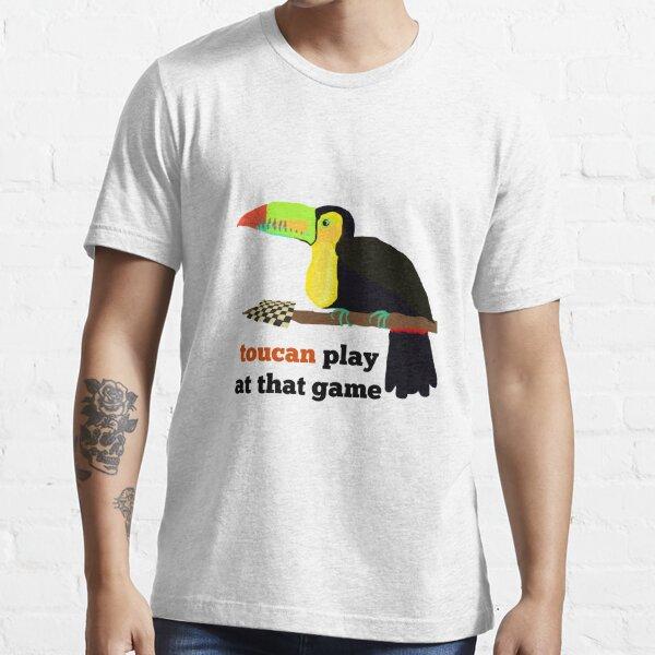 Toucan Jouer à ce JEU t-shirt homme-oiseau-deux Can-Drôle-Blague-Cadeau