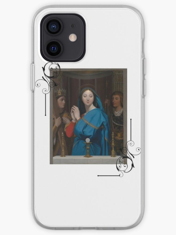 Vierge Marie, Sainte Marie, Enfant Jésus, Catholique | Coque iPhone