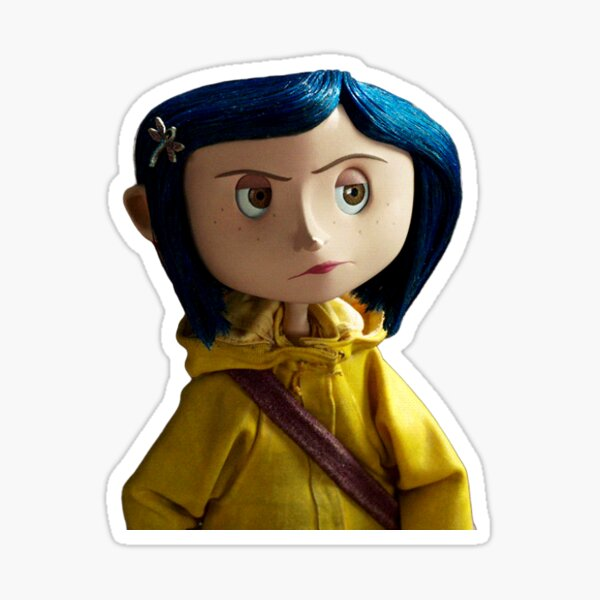 Coraline Jones Sticker