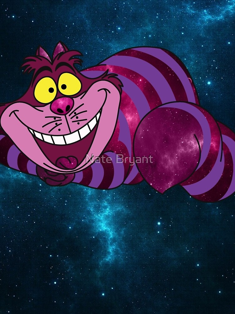 Cheshire Space Cat by KingGorillaBark